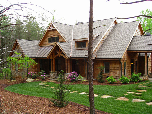 The Cedar Ridge Plan 1125 D Craftsman Exterior Charlotte