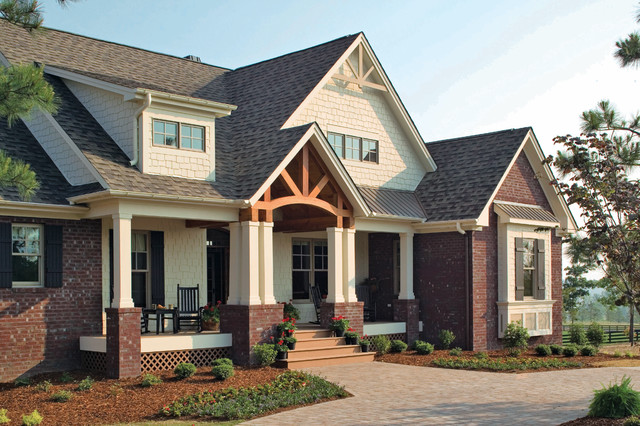The Cedar Ridge Plan 1125 Craftsman Exterior Charlotte By Donald A Gardner Architects