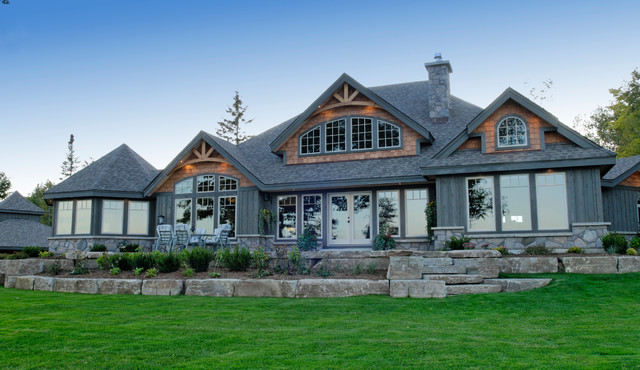 The clearview model craftsman exterior vancouver for Craftsman model homes