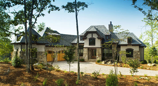 The Clubwell Manor-Plan#  5037 traditional-exterior