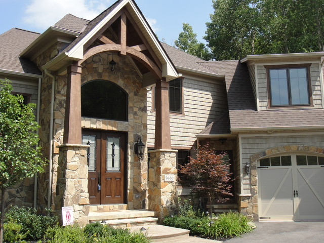 The craftsman craftsman exterior cleveland by for Craftsman model homes