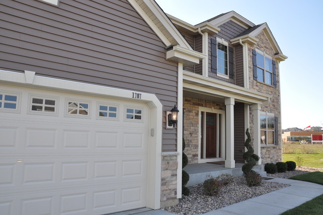 The Cypress - Rolling Ridge Model Home traditional-exterior