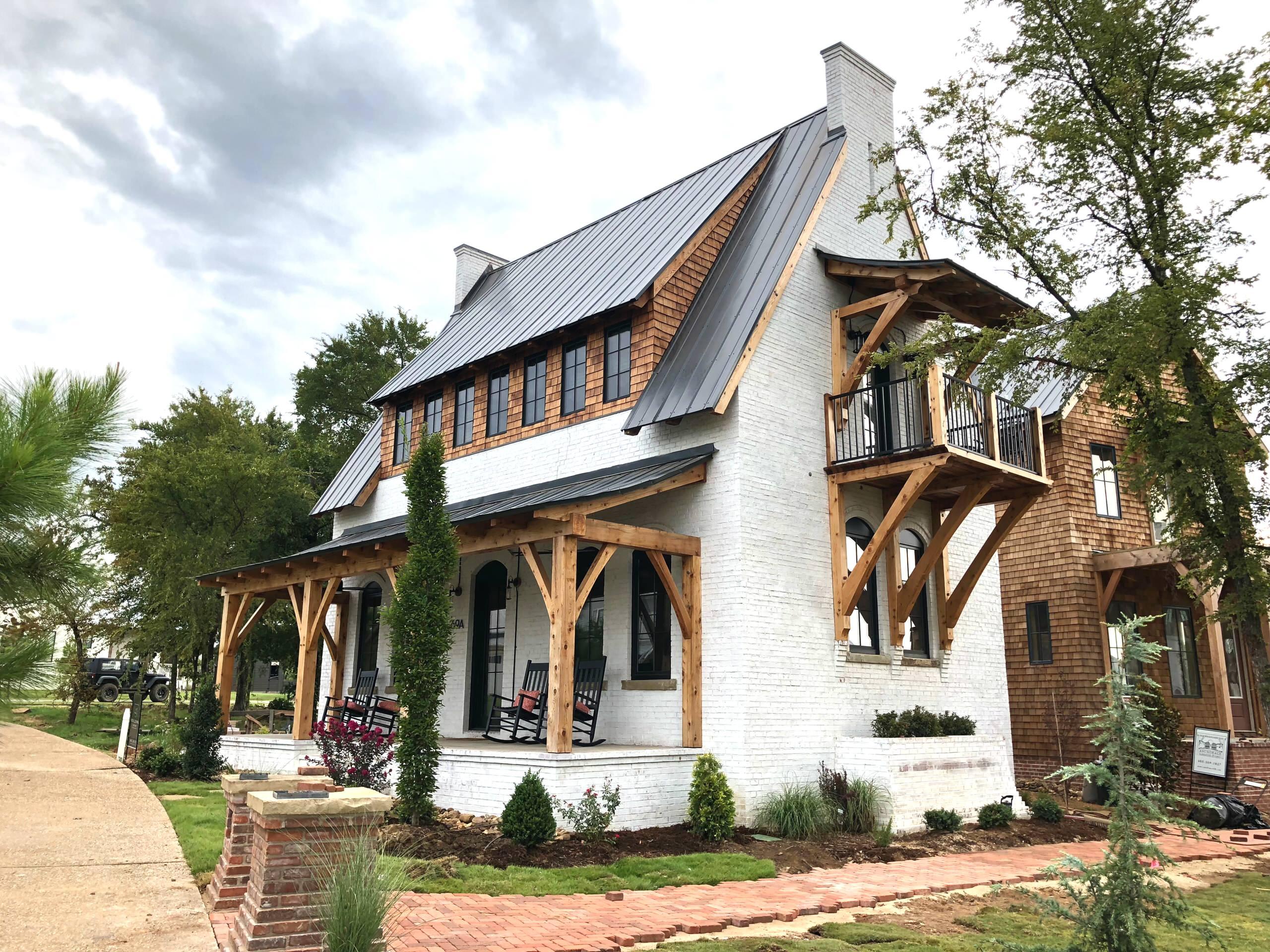 White Wash Brick Exterior Ideas