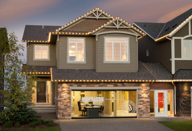 The everett showhome legacy calgary ab craftsman Exterior home renovations calgary