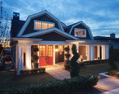 The Gambrel Roof Home traditional exterior