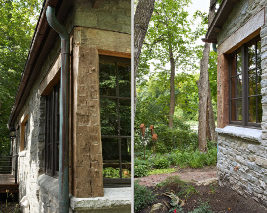 The Gatehouse rustic-exterior