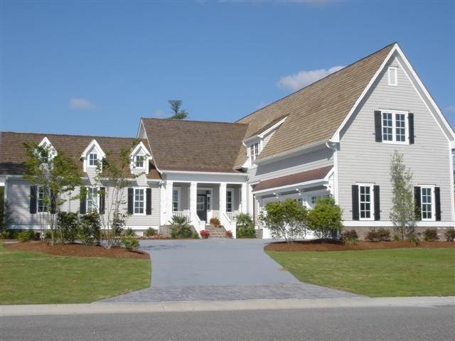 The George, built by Mark Johnson Custom Homes traditional-exterior