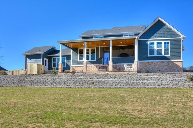 The Georgia Plan Custom Design And Build Farmhouse