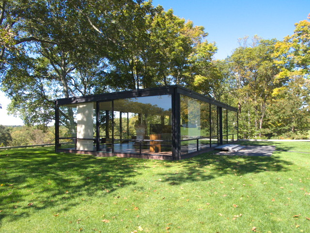 The Glass House modern-exterior