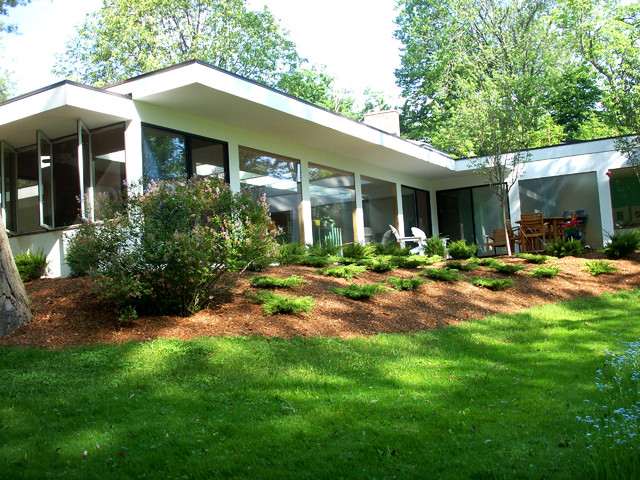 The Glass House Project modern-exterior