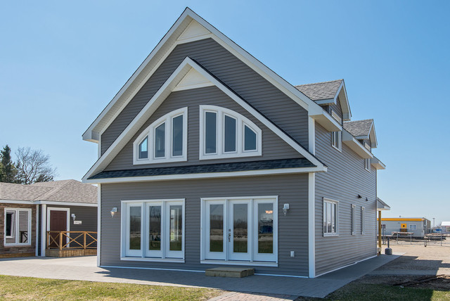 The glen orchard rustic exterior other by quality homes - Quality home exteriors ...