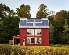 The GO Home Passive House contemporary-exterior