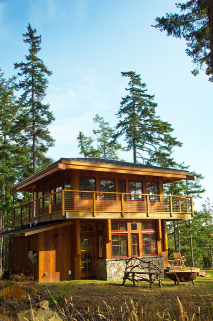 The Guest House Rustic Exterior Seattle By Decatur