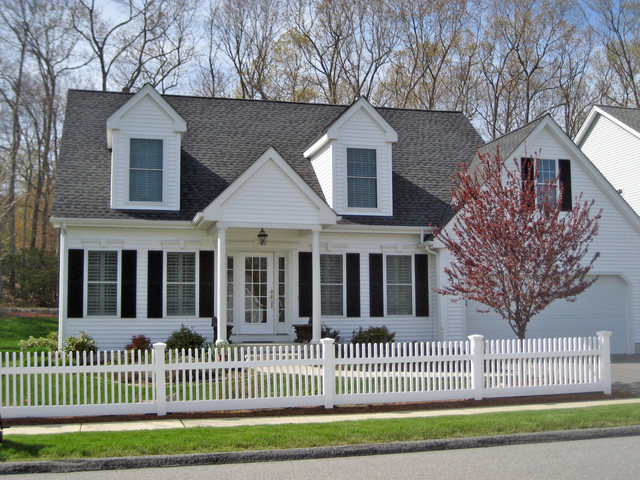 The hamlin model at spinnaker traditional exterior for Cape cod model homes