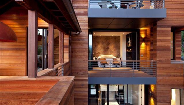 The Hillside House contemporary-exterior