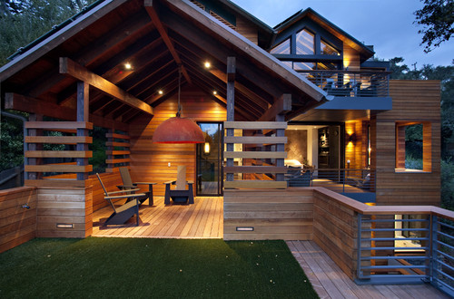 The Hillside House modern exterior