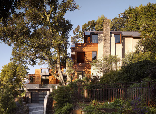 The Hillside House Contemporary Exterior San Francisco By Sb Architects