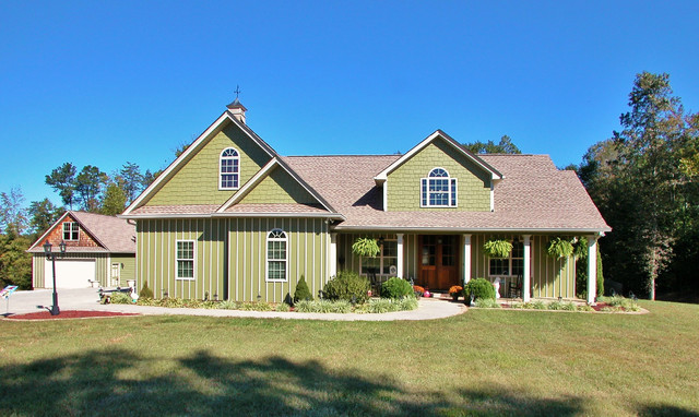 The Ives - Plan #1075 traditional-exterior