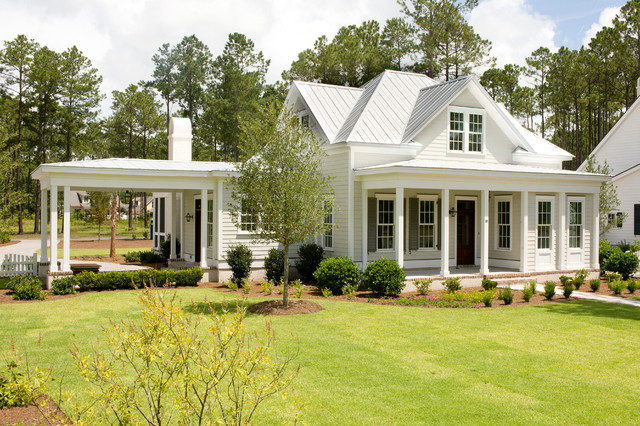 The jekyll traditional exterior charleston by for Porte development