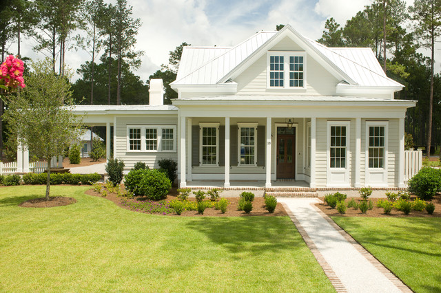 The jekyll traditional exterior charleston by for Charleston green paint