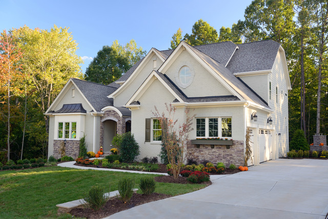 The Jensen Homeplan Traditional Exterior Raleigh