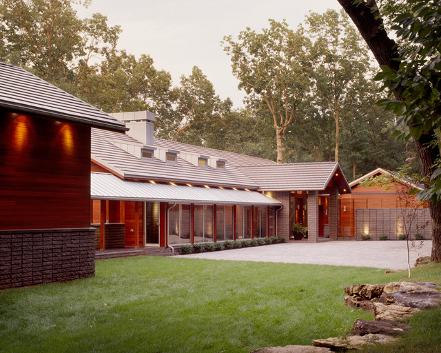 The Line House modern-exterior