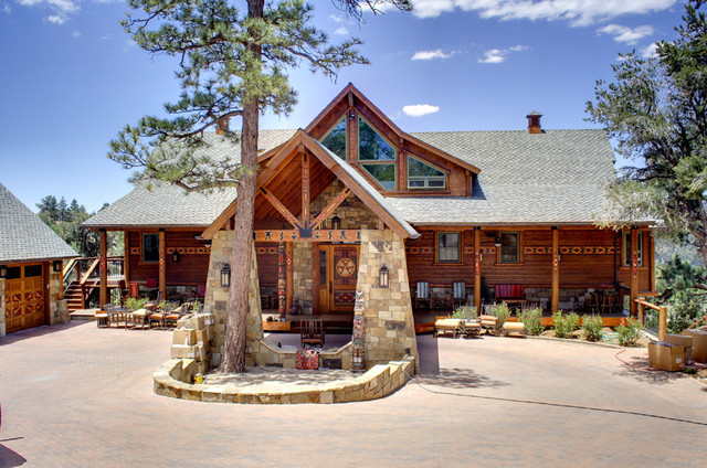 The Little Ahwahnee rustic-exterior