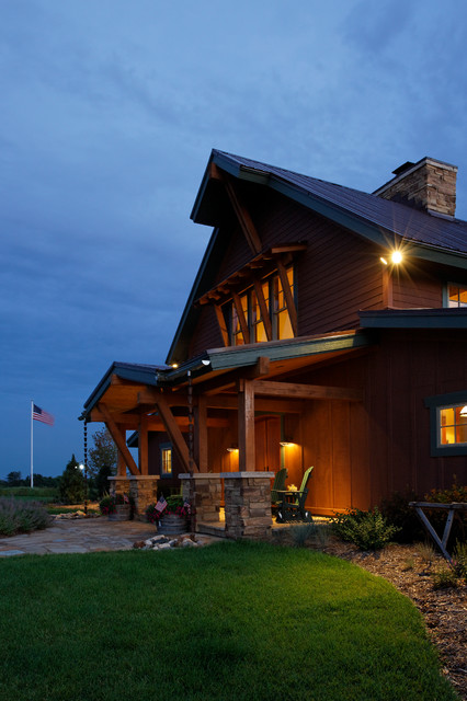 The Lodge rustic-exterior