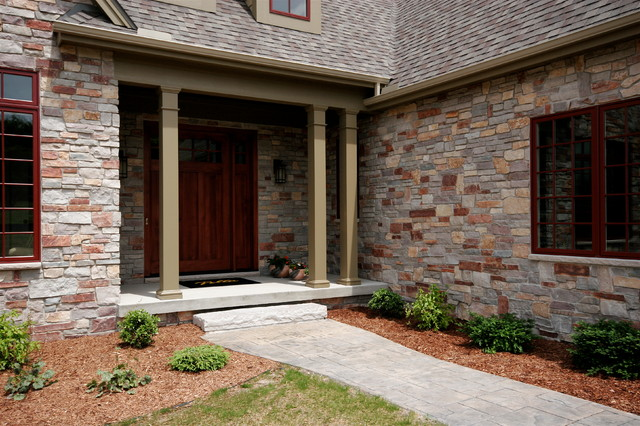 The Main Entrance Traditional Exterior Detroit By
