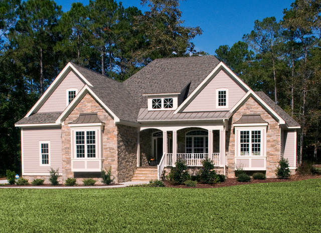 The marley plan 1285 craftsman exterior charlotte for Donald gardner house plans with photos