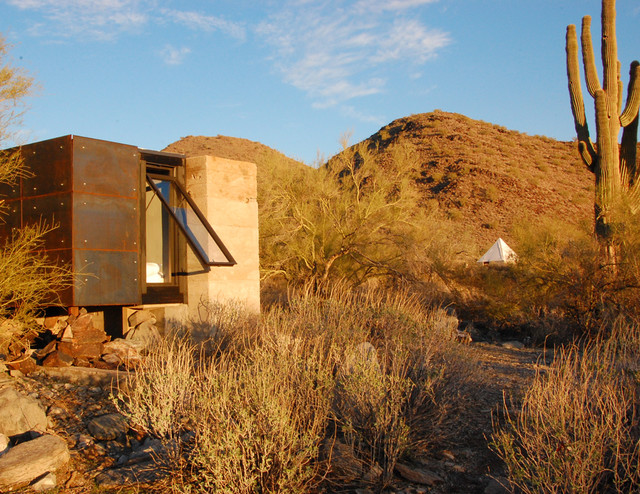 The Miner 39 S Shelter Contemporary Exterior Phoenix