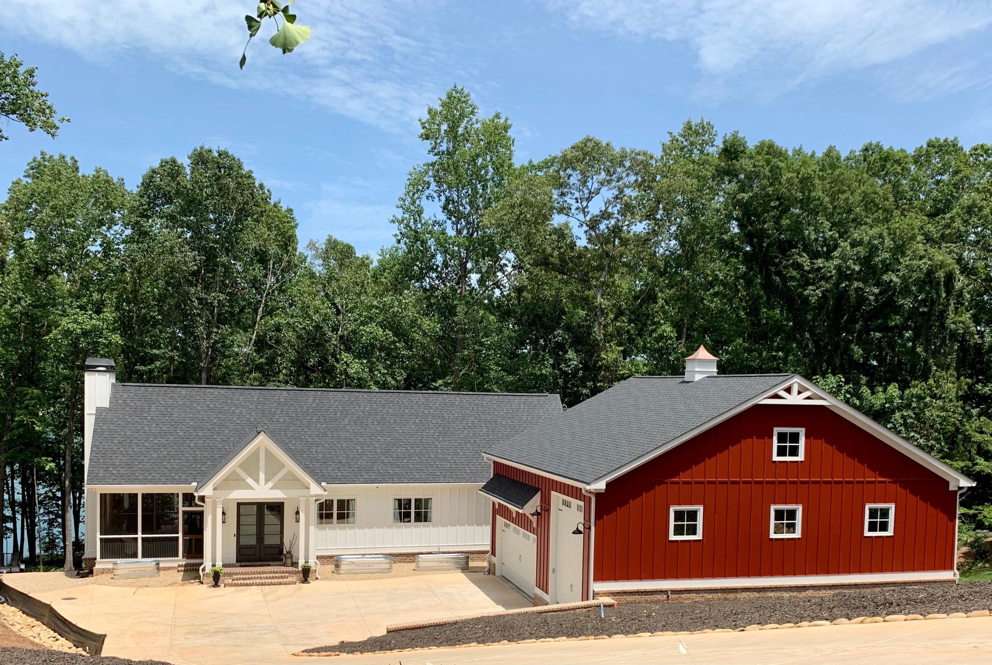 The Modern Barn House