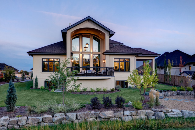 The Modern Vintage Transitional Exterior