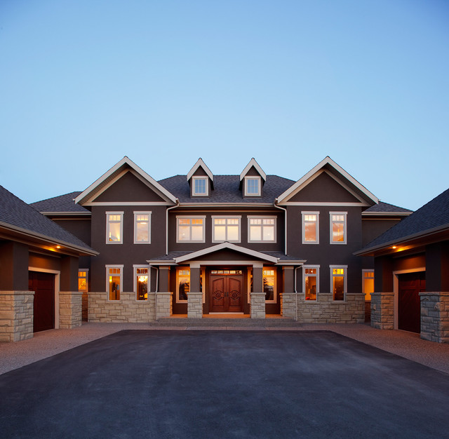 The Mystique by Maillot Homes traditional-exterior