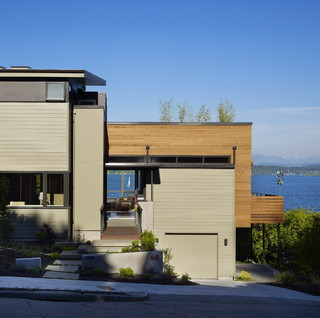 The Nest Modern Exterior Seattle By Deforest
