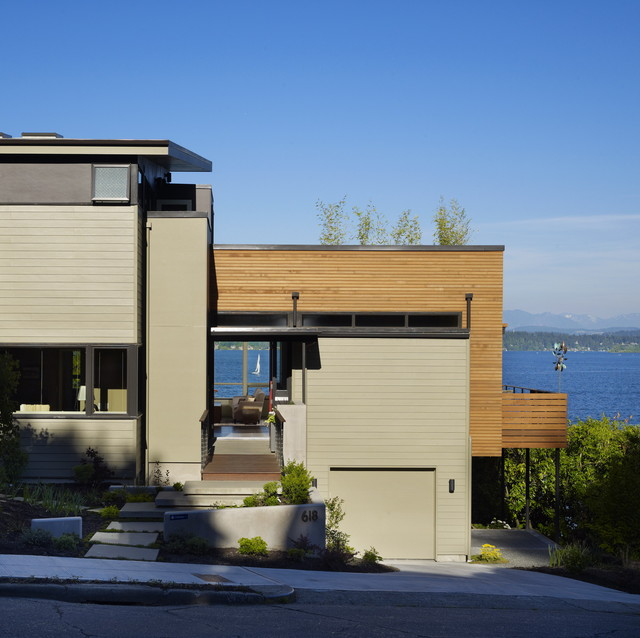 Modern Exterior by DeForest Architects
