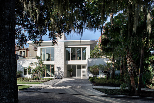 the new american home contemporary-exterior
