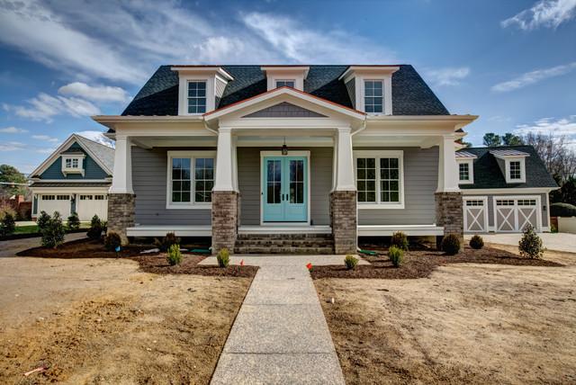 The Oak Craftsman Exterior Richmond By Millmar Homes