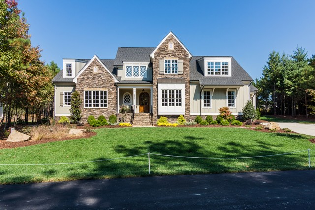 The oakmont built by homes by dickerson in raleigh nc Oakmont home builders