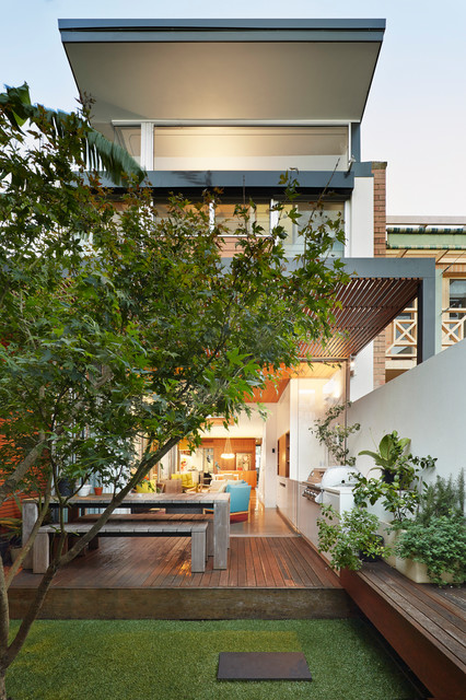 The Open House Contemporary Exterior Sydney By