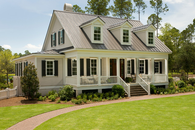 The Page Palmetto Bluff Style Home Traditional Exterior Charleston By Shoreline