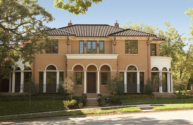 The Palladian traditional-exterior