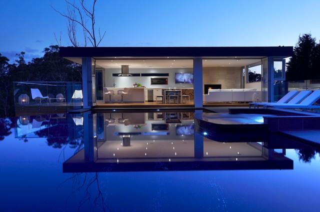 The Pavilion contemporary-exterior