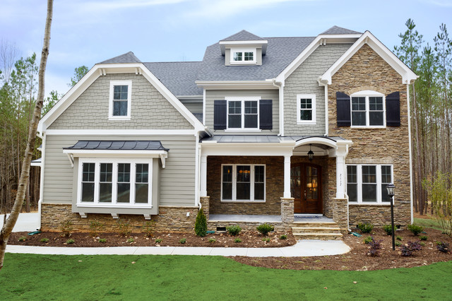 The Paxton Homeplan Traditional Exterior Raleigh