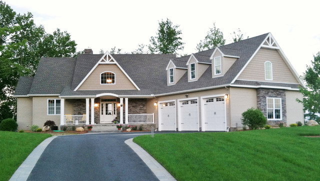 The peekskill plan 780 d craftsman exterior for Donald a gardner craftsman house plans