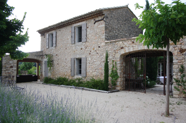 The Provence Home Of Chantal And Harry Mediterranean Exterior