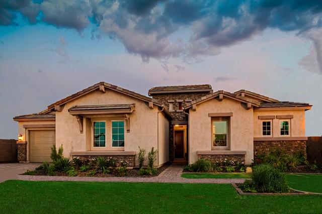 The Redwood Plan at Higley Manor | Phoenix, AZ mediterranean-exterior