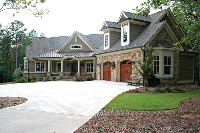 The Richelieu Plan 1157 Craftsman Exterior