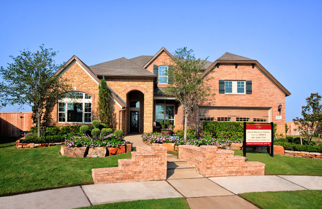 The Rosslynn Exterior houston by David Weekley Homes