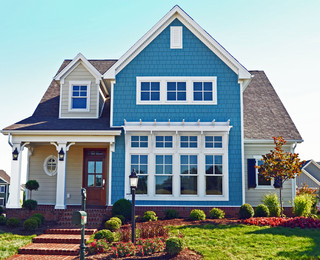 The seaside model home patchen wilkes traditional for Paint and wine lexington ky